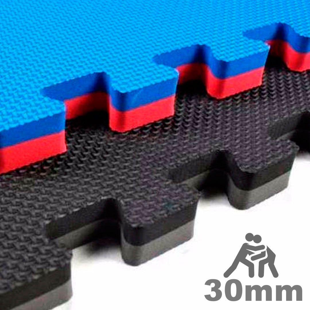 Tatame Eva Alto Impacto UltraMax 1,00 x 1,00m - 30mm - Cores Variadas