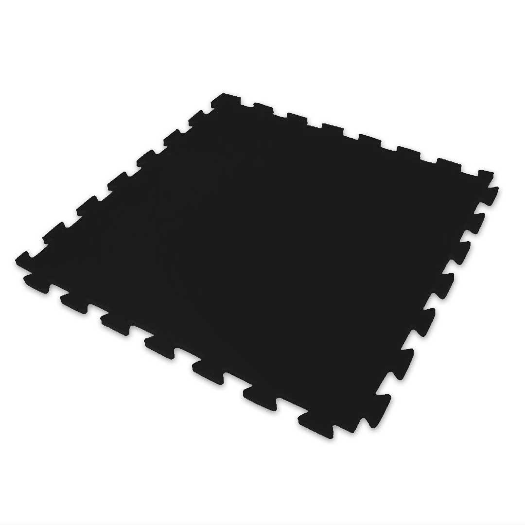 Tatame Eva Kids 20mm 0.50x0.50m - Preto - DTC