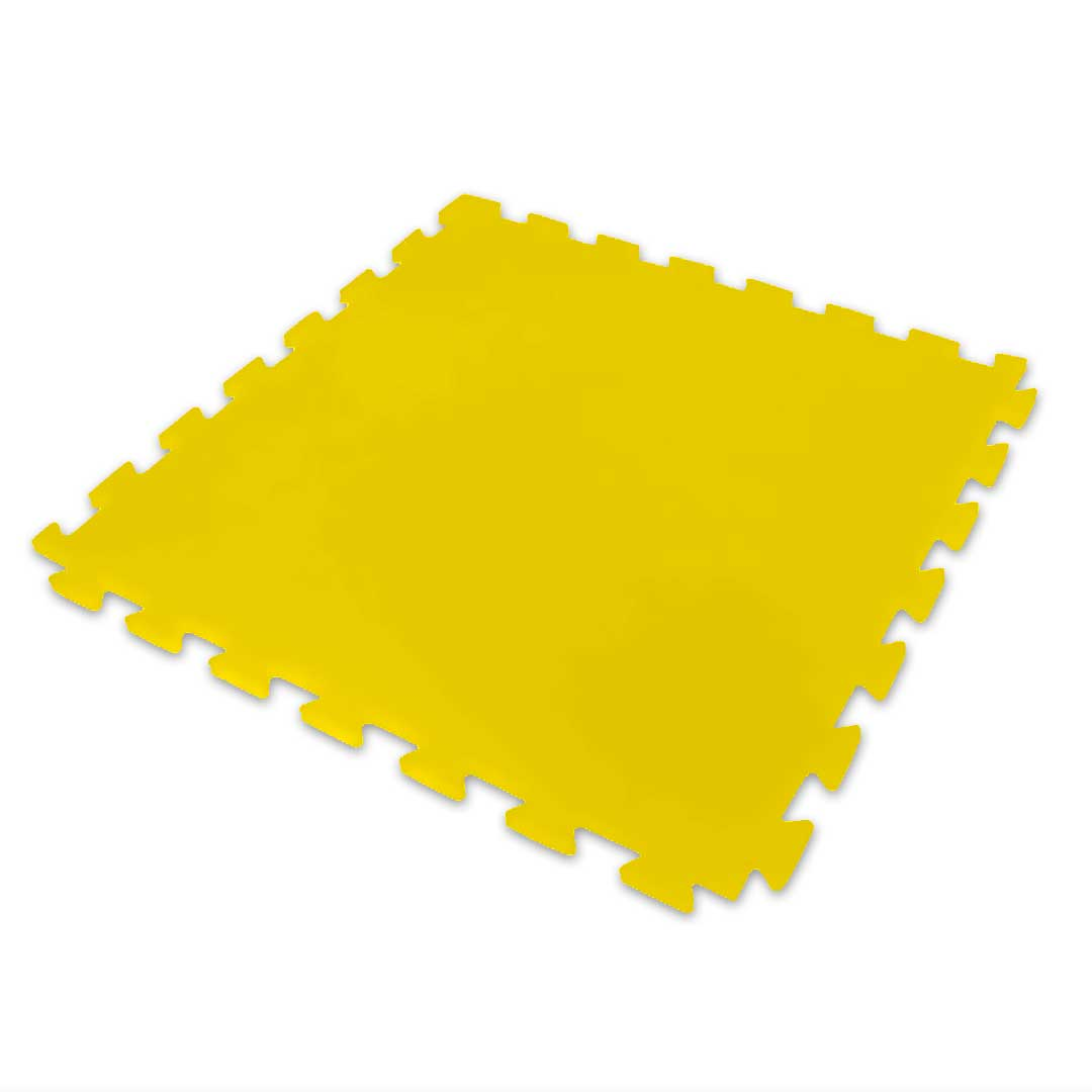 Tatame Ultra Max 10mm 0.50x0.50m - Amarelo - DTC
