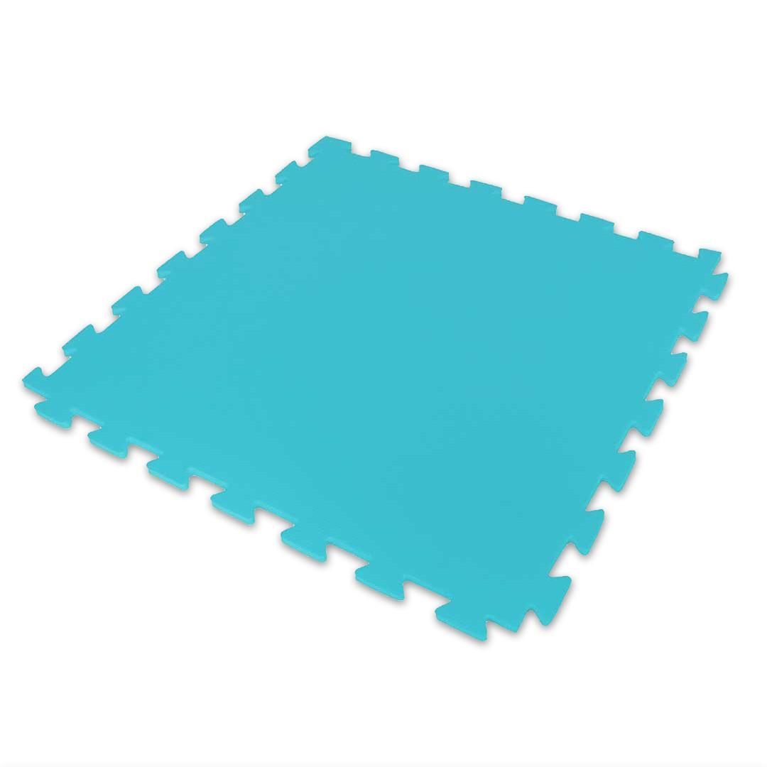 Tatame Ultra Max 10mm 0.50x0.50m - Azul Claro - DTC