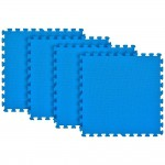 Tatame Ultra Max 20mm KIT 04 placas 0.50x0.50m Azul Royal