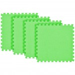 Tatame Ultra Max 20mm KIT 04 placas 0.50x0.50m Verde Claro