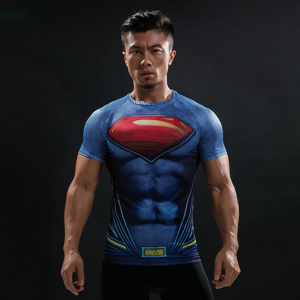 7cd000b2c Camisas de heróis Liga da Justiça - Camisetas Manga Curta Masculino ...