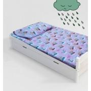 Jogo de cama infantil frozen 3 peças