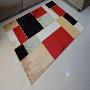 Tapete De Veludo Marbella Retângulos 2.50 X 3.50- Rayza