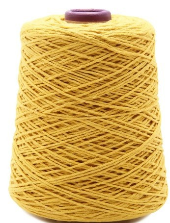 Barbante para Crochê Amarelo