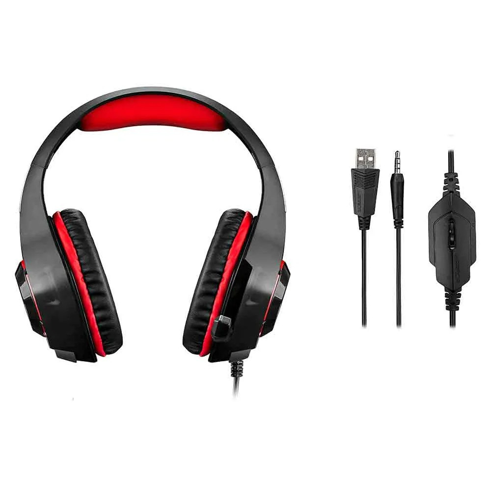 Headset Fone De Ouvido Gamer Warrior Ph219 C/ Led Multilaser Xbox One Ps4 Pc