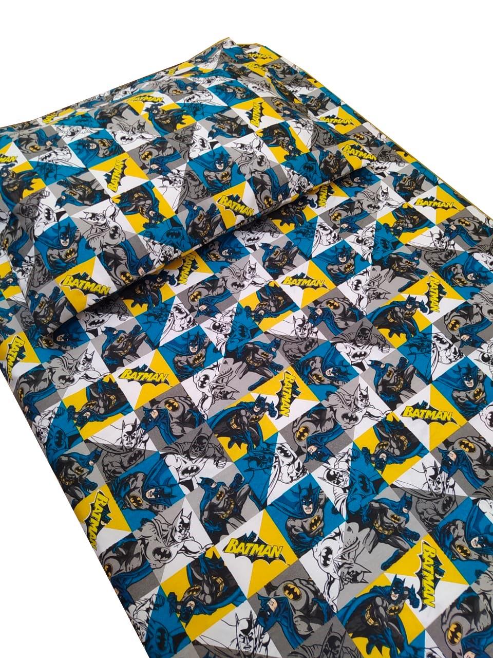 Jogo de cama infantil Batman 2 peças