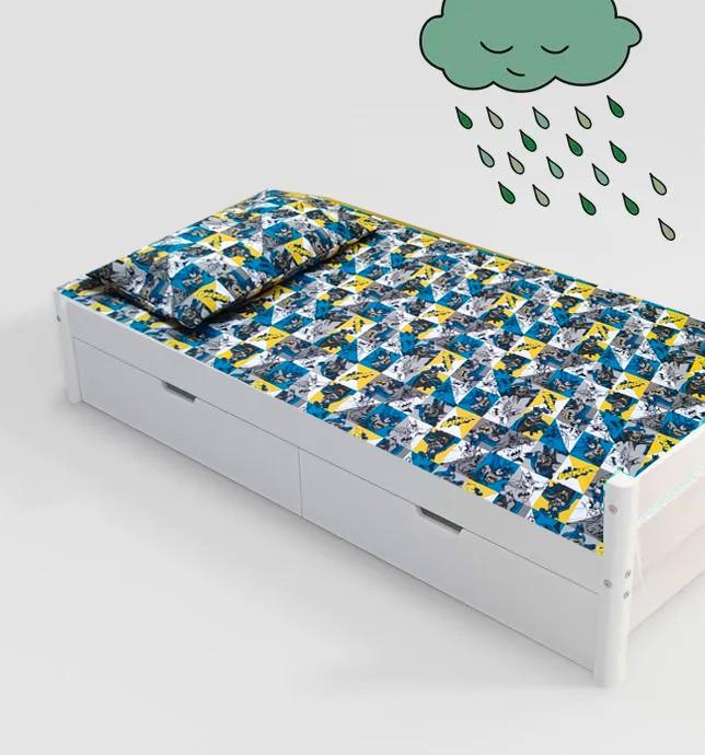 Jogo de cama infantil Batman 3 peças