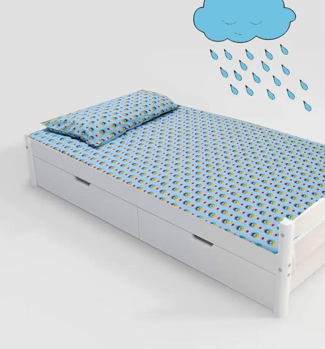 Jogo de cama infantil Branca de Neve 3 peças