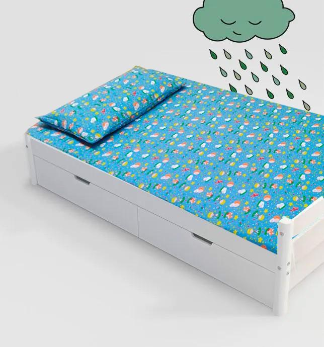 Jogo de cama infantil  Mini Cama Pequeno Príncipe  3 peças