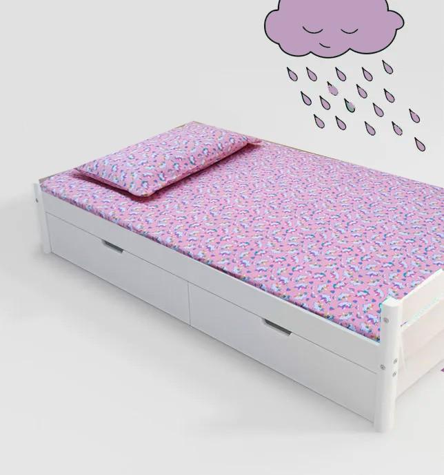 Jogo de cama infantil Unicórnio 3 peças