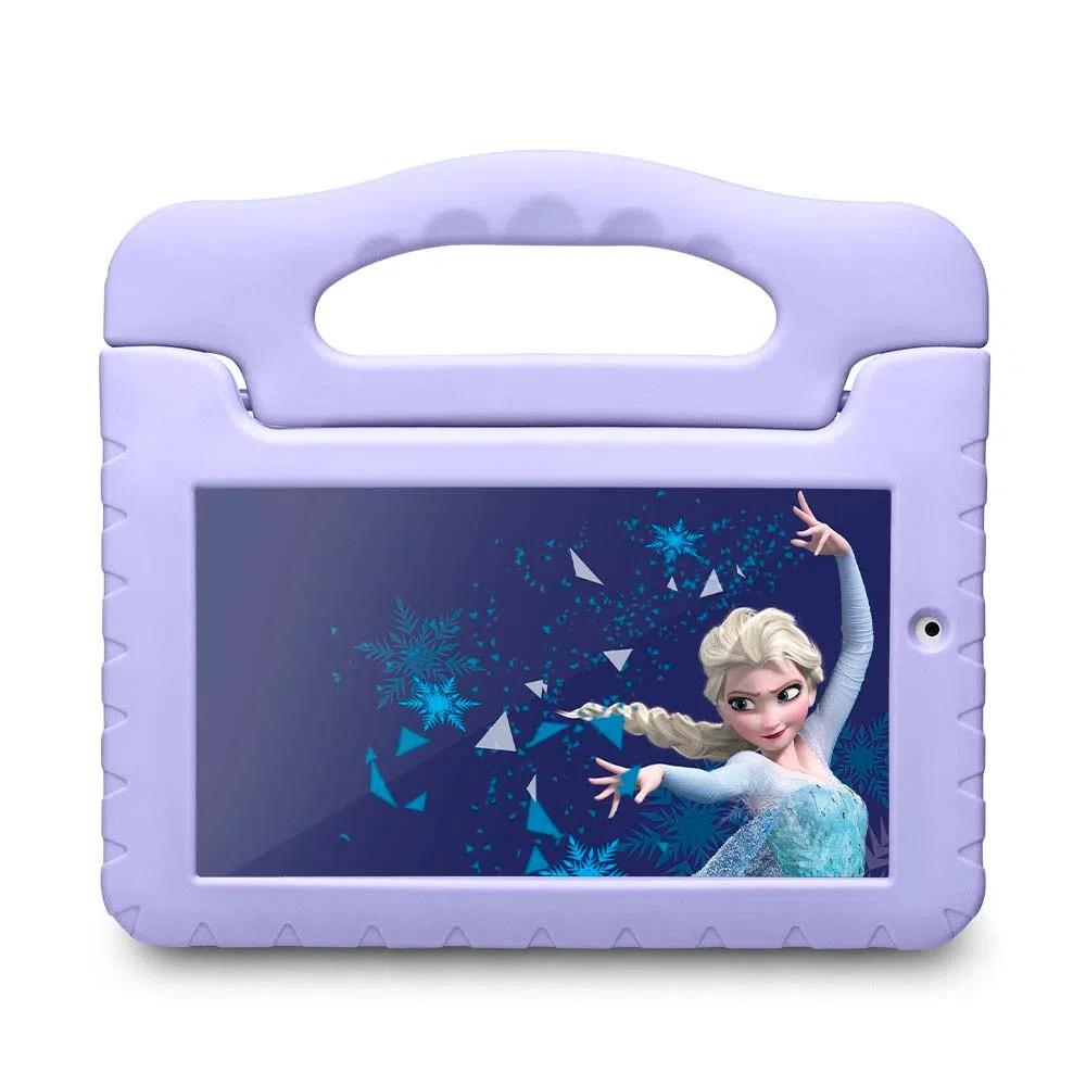 Tablet Multilaser Disney Frozen Plus Wi Fi Tela 7 Pol. 16GB Quad Core