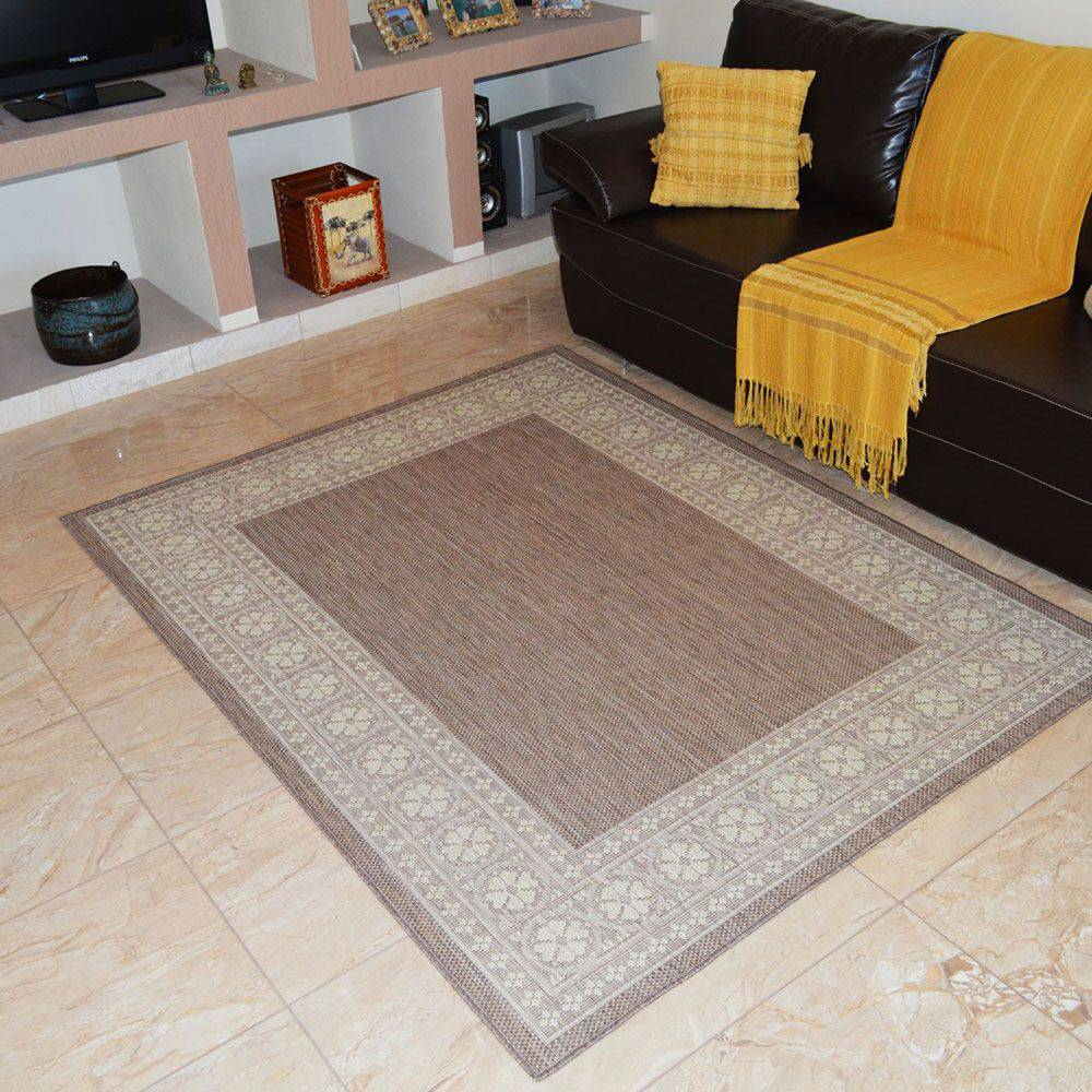 Tapete Sisal Look Fiore 1,48mx2,00m Rayza