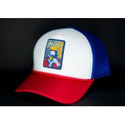 Boné Trucker Tricolor King