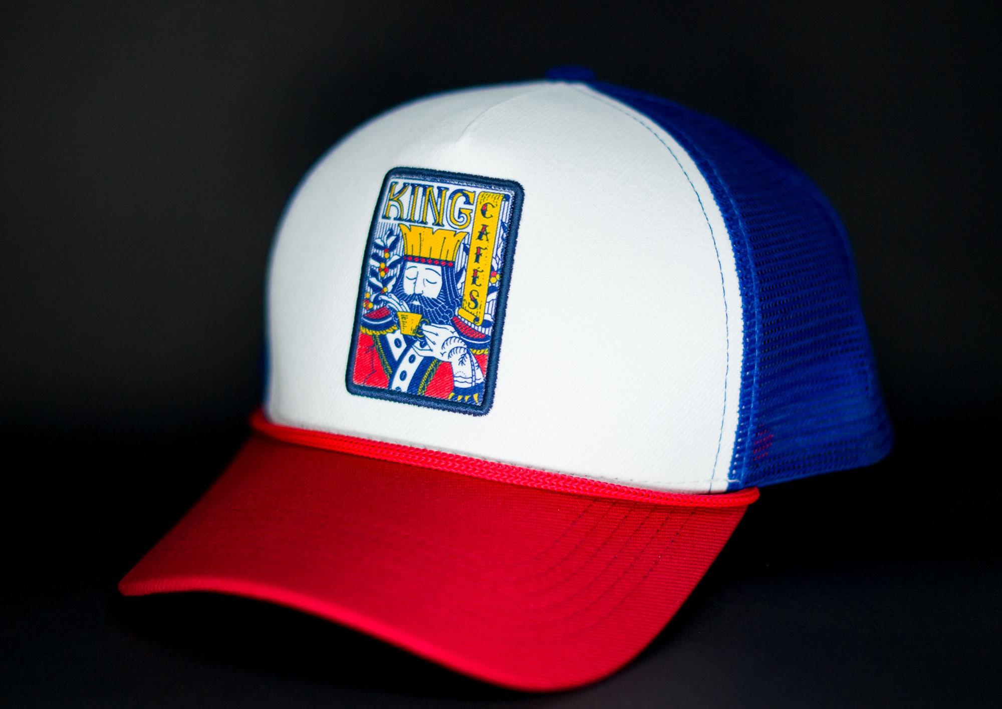 Boné Trucker Tricolor King
