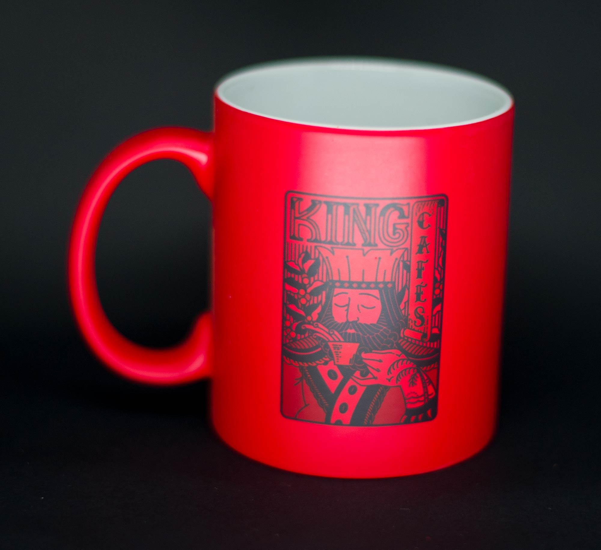 Caneca Mágica Tome Café Foda Vermelha Fosca