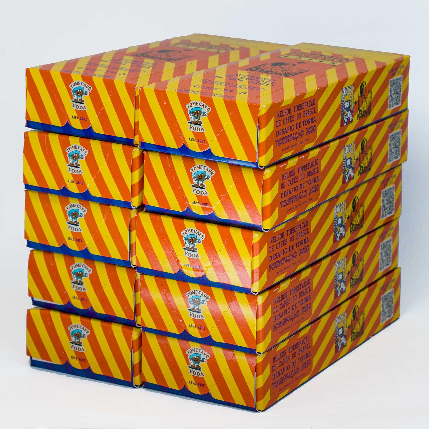 Cápsulas Bourbon Amarelo - Kit com 100 Cápsulas