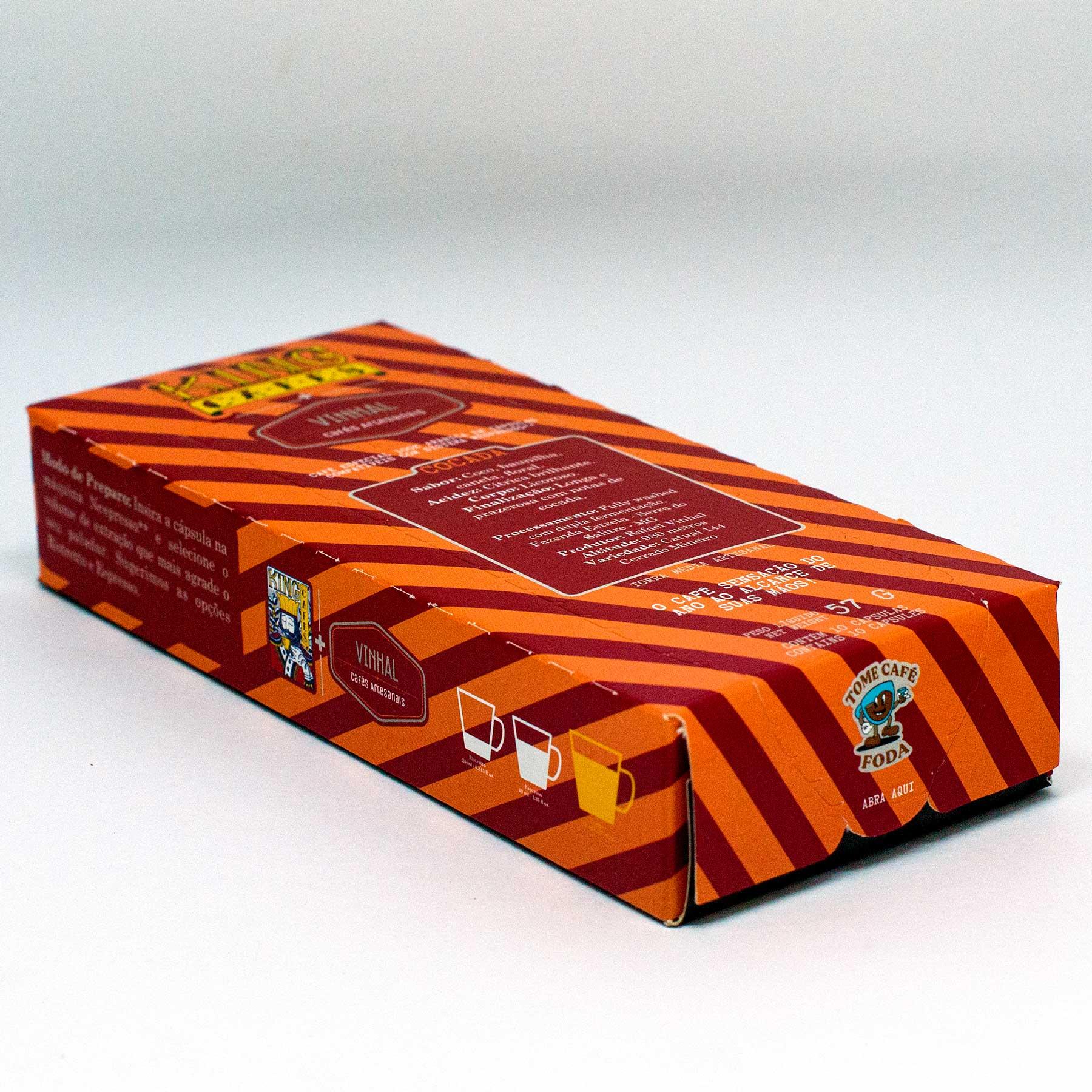 Cápsulas Cocada - Kit com 50 Cápsulas