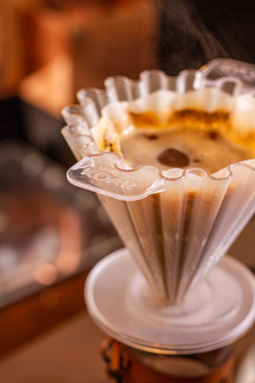 Coador de acrílico para café Koar Tam. 02