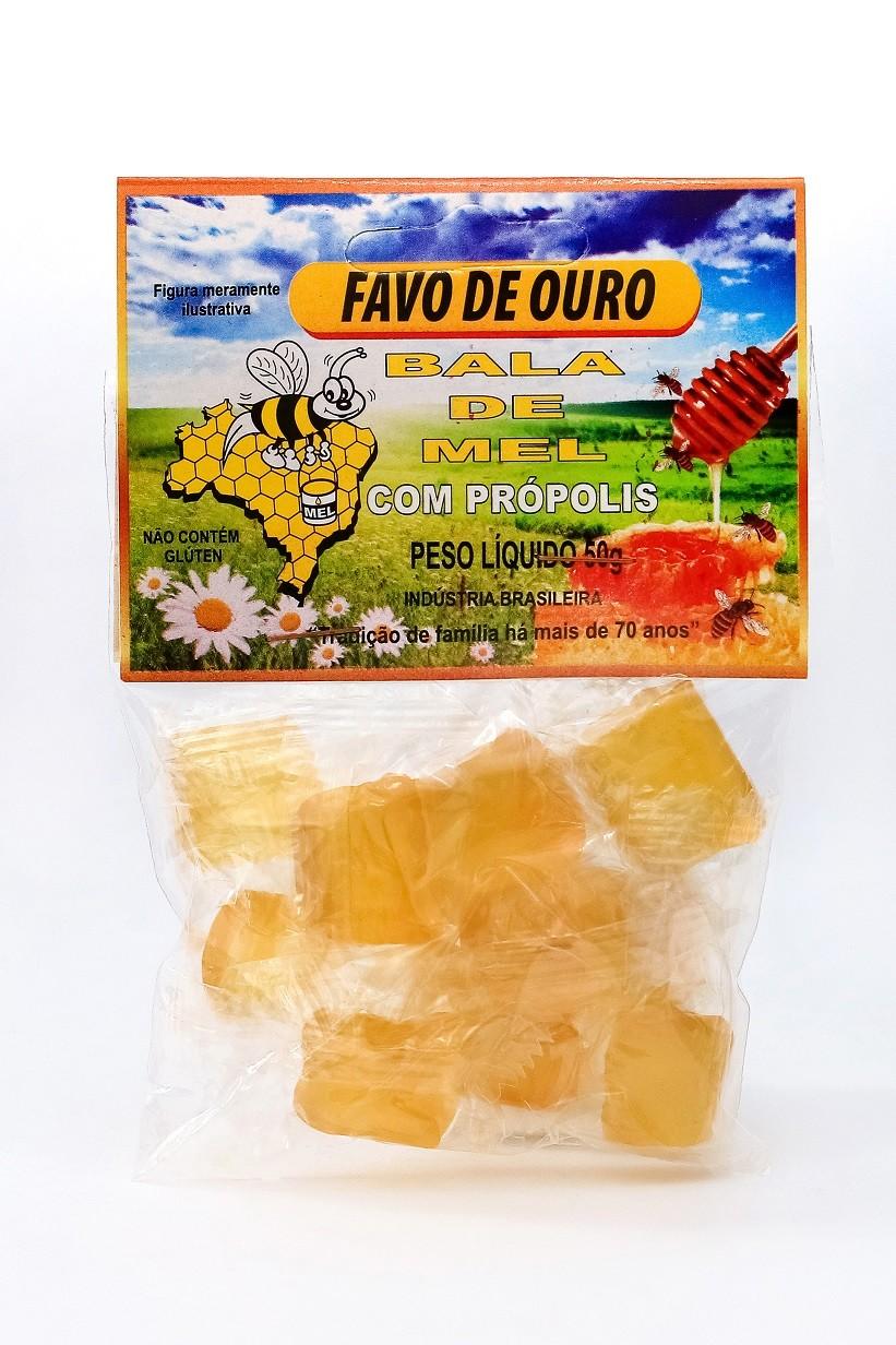 BALA DE MEL 50g - Diversos sabores
