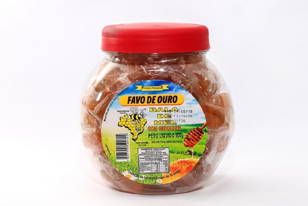 BALA DE MEL 900g - Diversos sabores