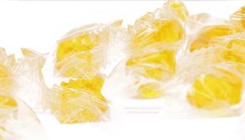 Bala de mel 50g com diversos sabores
