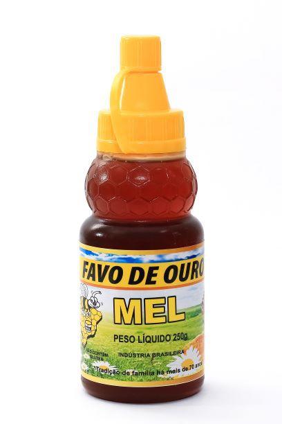 mel puro em bisnaga 250g