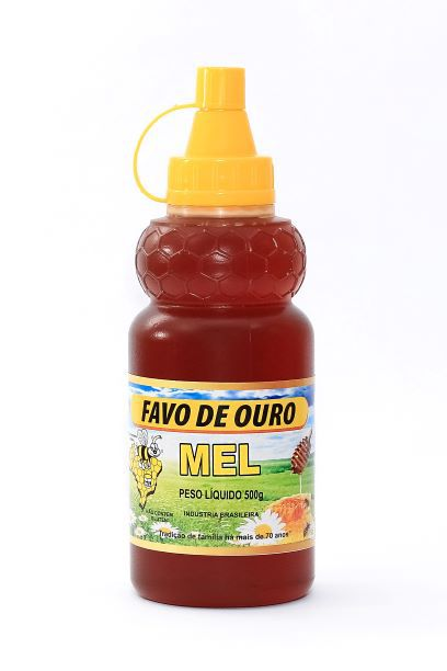 BISNAGA 500g - MEL PURO