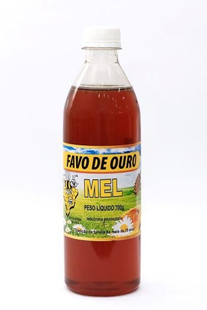 Garrafa de mel puro 700g