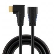 Cabo HDMI 2.0 1,5m 90º Graus Lado Direito 4 k X 2 K/60 hz--- L000016 E - 3211