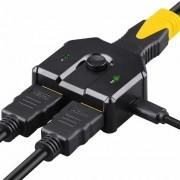 Chaveador Swither Seletor Divisor Hdmi 2.0 2x1 1x2 4k 60Hz
