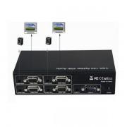 Distribuidor Splitter Vga 4 Portas 1x4 500mhz Res 1900x1200