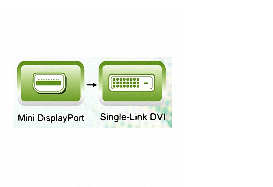 Adaptador Ativo Mini Dp Displayport Dvi His Original Eyefiny