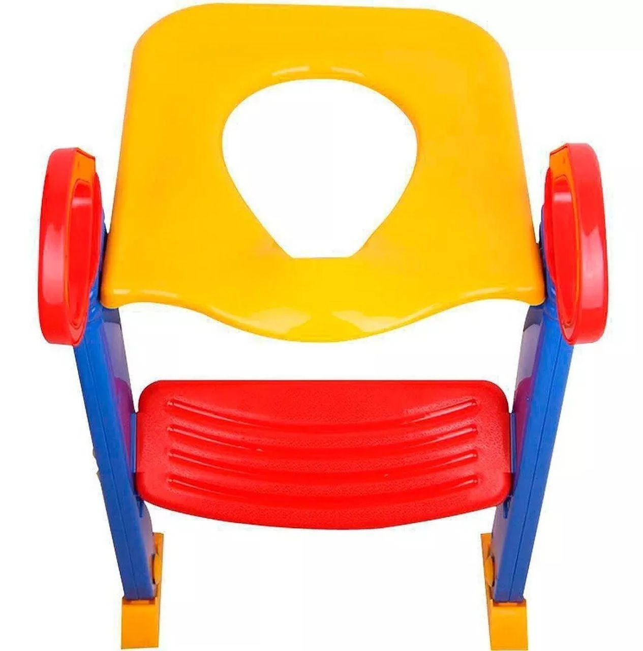 Assento Redutor Infantil com Escada Elevado para Vaso Sanitario