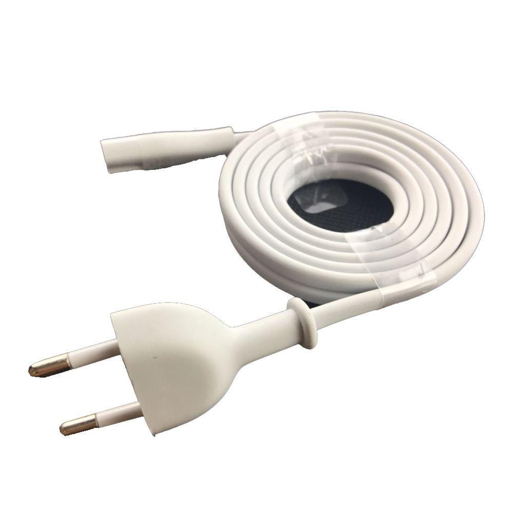 Cabo de Energia Tomada 1,8m Branco - Premium Quality Plug BR