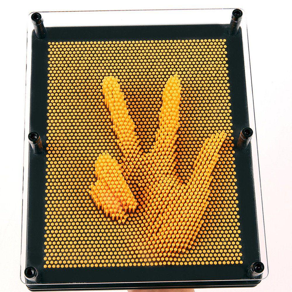 Captador De Imagens 3d Pinart Amarelo Extra Grande 20x15x4Cm