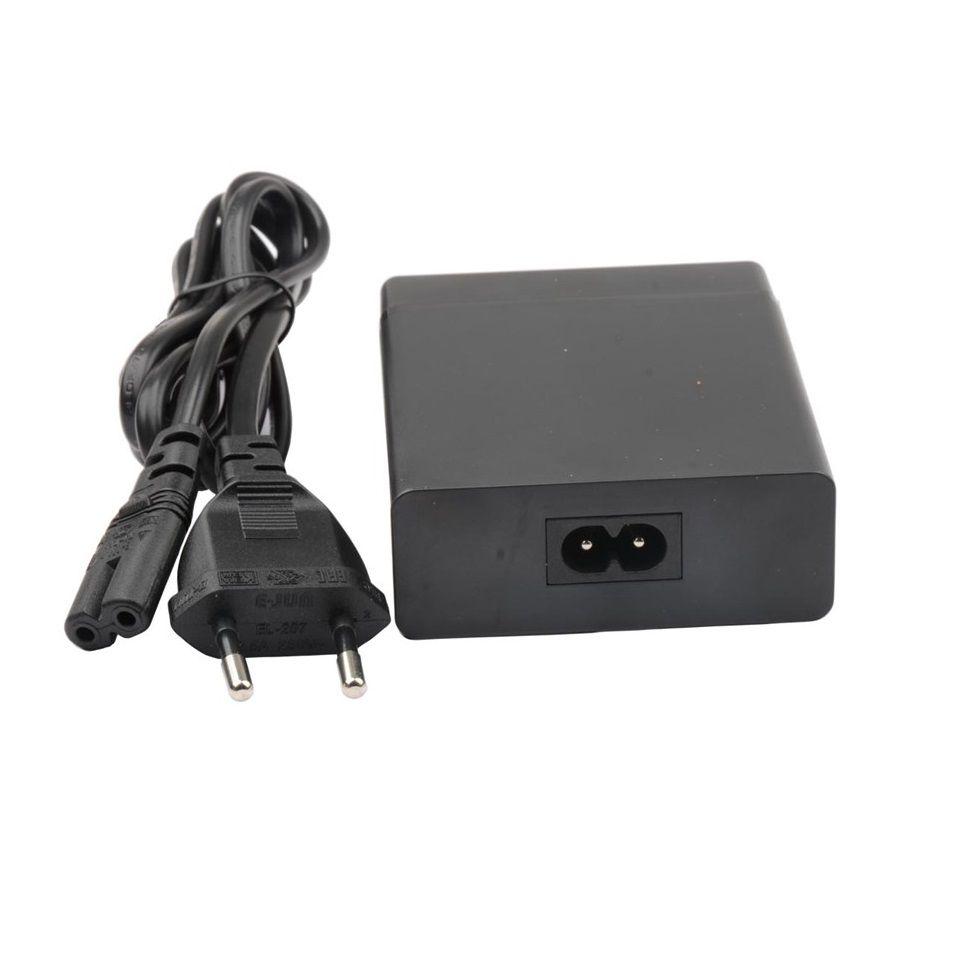 Carregador FAST USB Turbo - 3X USB A 5V 2.4A - 1X USB-C 60W