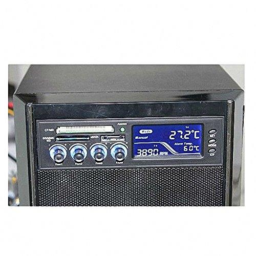Controlador De Fan Cooler Com Leitor De Cartão 4 Fan Cooler