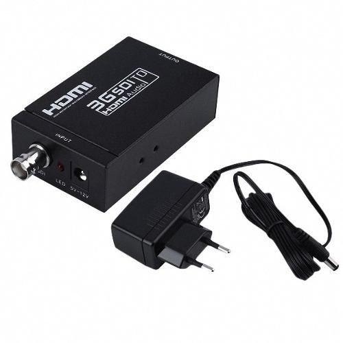 Conversor Adaptador Sd-Sdi, Hd-Sdi E 3G-Sdi Para Hdmi V1.4