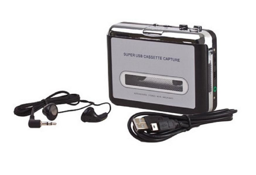 Conversor De Fita Cassete Usb Tocador E Conversor K7 Mp3