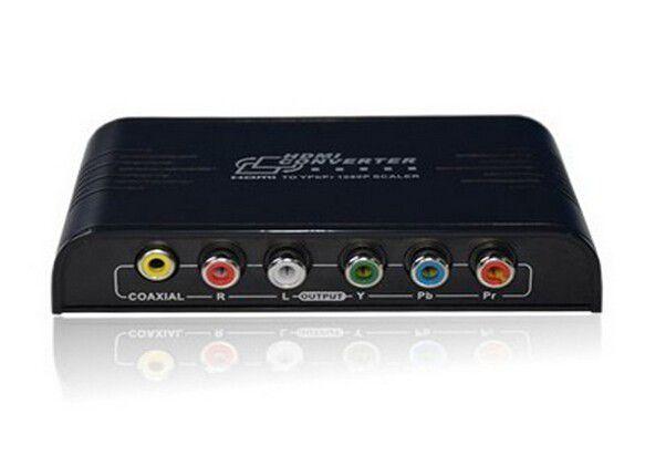 Conversor HDMI para Video Componente Ypbpr com saida de audio