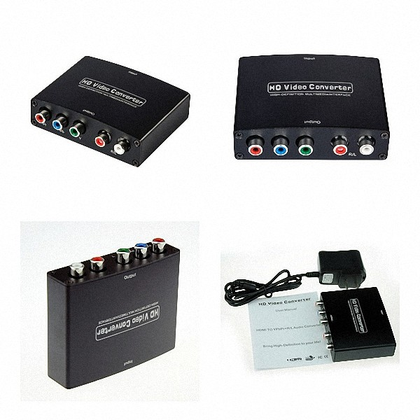 Conversor Hdmi Para Vídeo Componente Ypbpr (rgb) Áudio