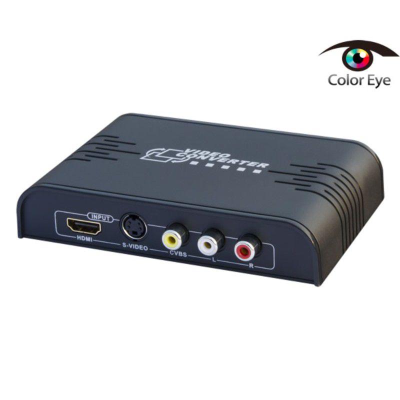 Conversor RCA S-Video HDMI para HDMI c/ Upscaling LKV363A