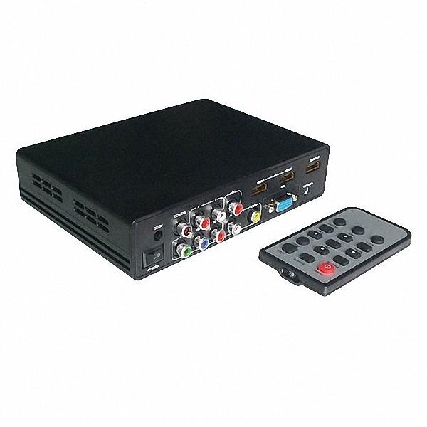 Conversor Switcher Tudo 2X Hdmi Vga Av Ypbpr Usb P/ Hdmi