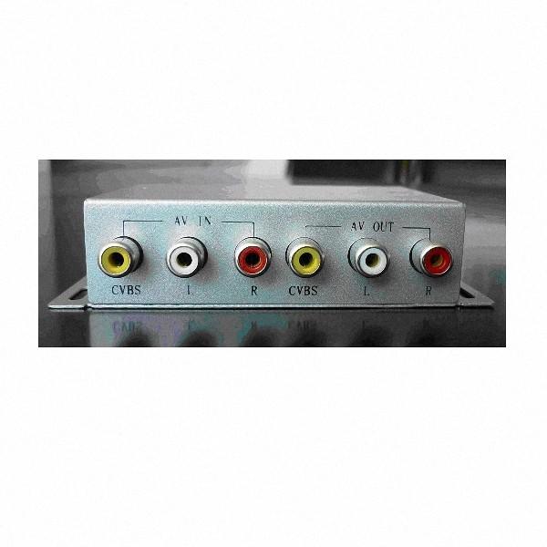 Extensor De Controle Remoto Audio E Video Cabo Rede 4 Pontos