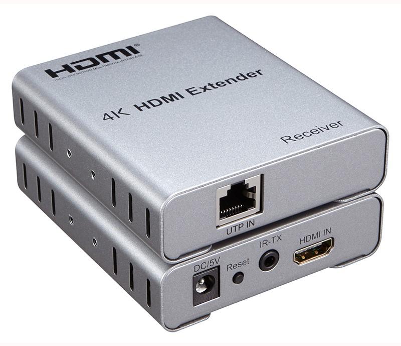 Extensor HDMI 4k 50m - 1080p 60Hz Cabo de Rede Ethernet Cat6