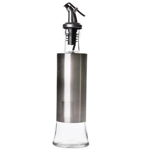 Garrafa De Vidro 300 ml Para Vinagre Ou Azeite Com Trava