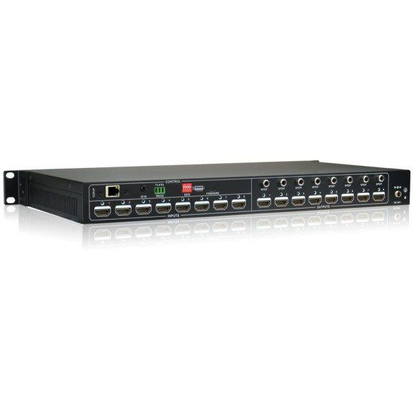 HDMI Switcher Matrix 8x8 4k HD Profissional HDCP 2.2 RS232