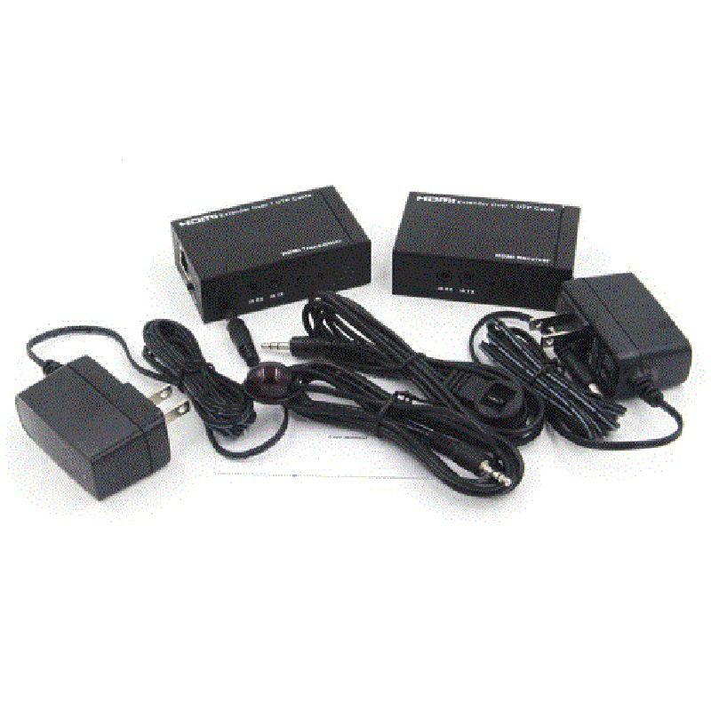 Kit Extensor HDMi até 50M 1080p FullHD C/ Controle remoto IR